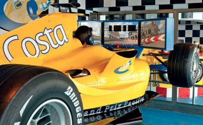 Costa Deliziosa Grand Prix simulator