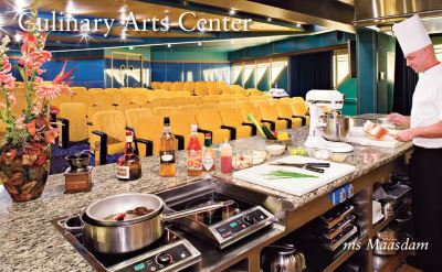 Holland America Maasdam culinary arts center