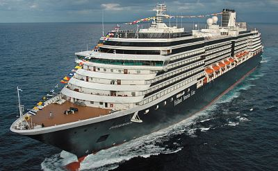 Holland America Zuiderdam cruise ship