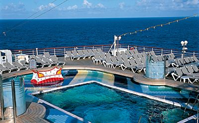 Holland America Zuiderdam pool