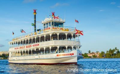 Jungle Queen dinner cruise