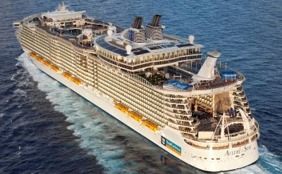 Royal Caribbean Allure of the Seas cruise ship