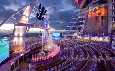 Royal Caribbean Allure of the Seas aquatheater