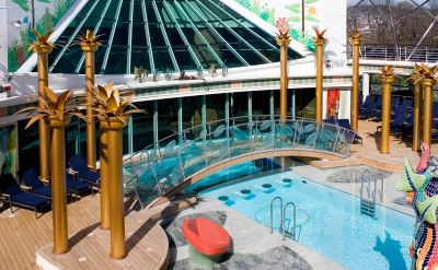 Royal Caribbean Independence of the Seas pool