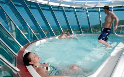 Royal Caribbean Liberty of the Seas whirlpool
