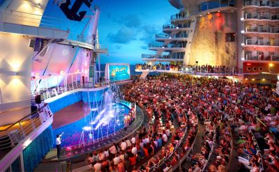 Royal Caribbean Oasis of the Seas amphitheater