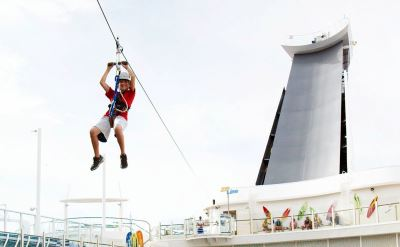 Royal Caribbean Harmony of the Seas zipline