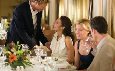 Seabourn dining